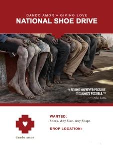 Dando-Amor-Shoe-Drive-Promo BLANK